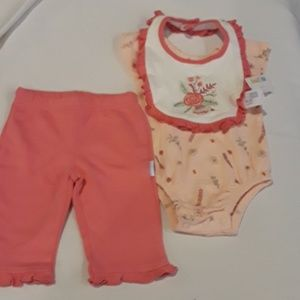 3 piece girls outfit new